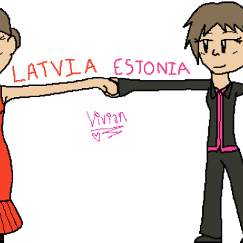 Latvia and Estonia