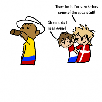 Never Ask Colombia Again For That!