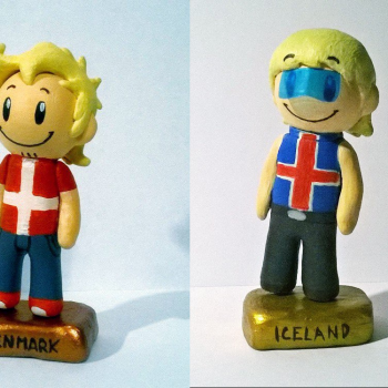 Denmark and Iceland figures fanmade