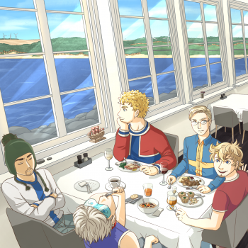 A dinner by the coast