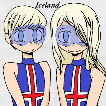 Iceland Siblings