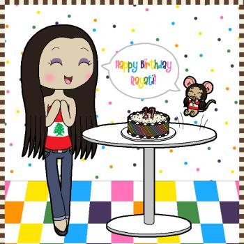 Happy Birthday Rayati~!