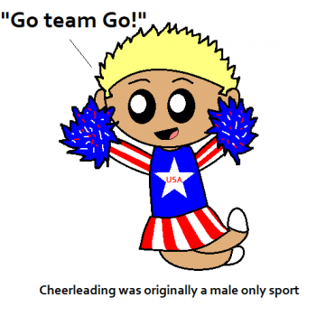 Cheerleading is Manly