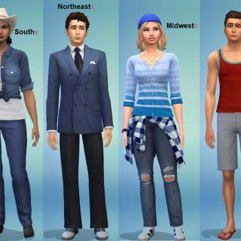 US Regions in Sims 4