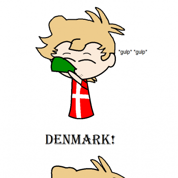 And Denmark never gave her back