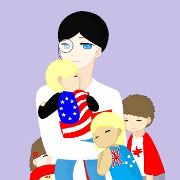 England and his kids