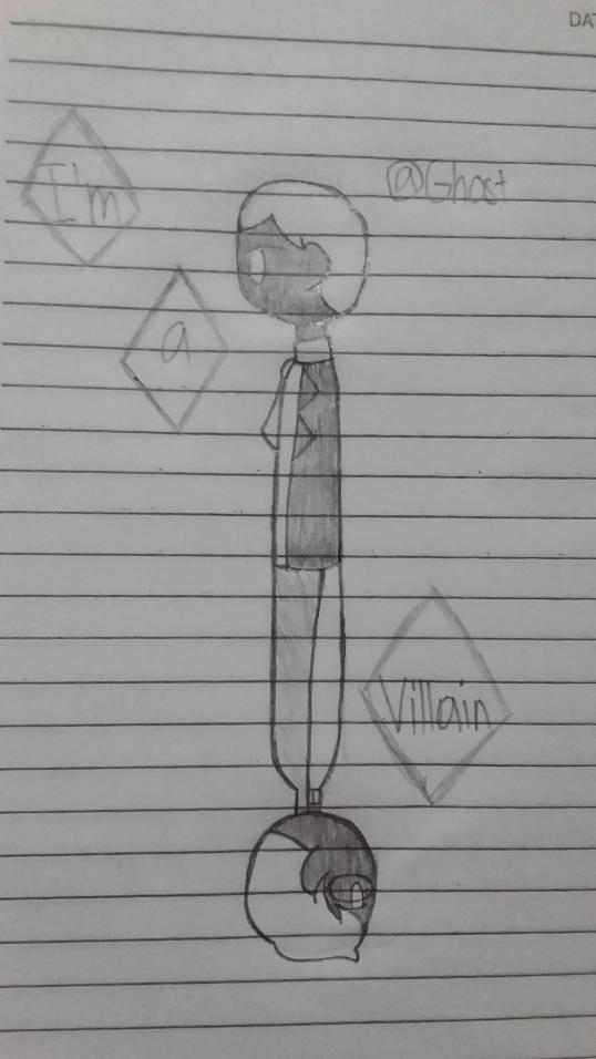 You're a villain