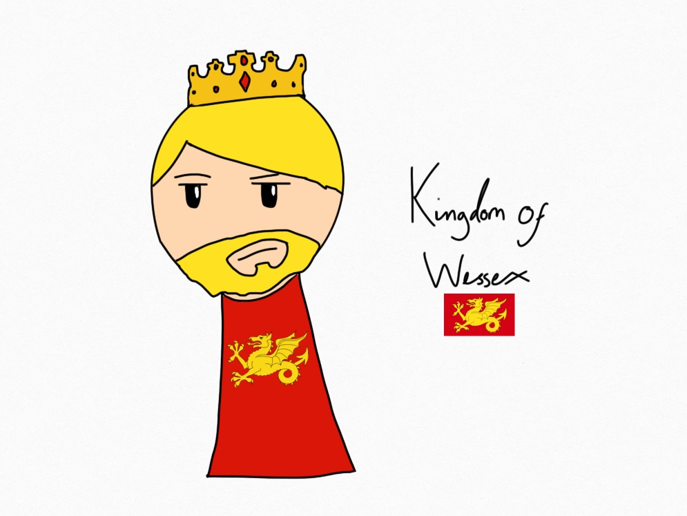 The Anglo-Saxon kingdom of Wessex