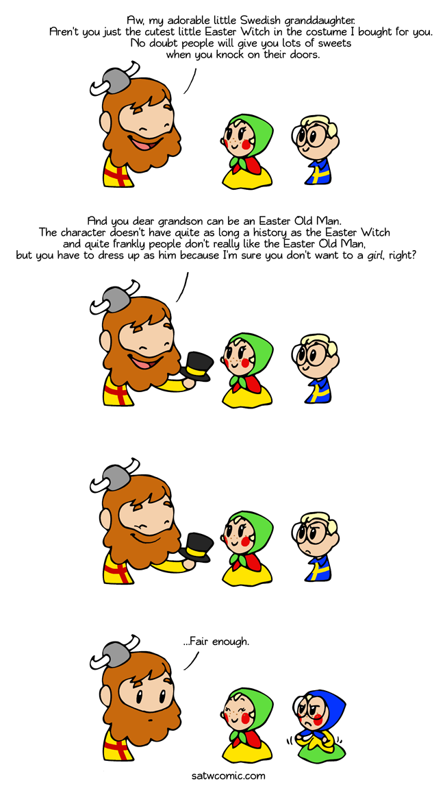 Children, choose your character satwcomic.com