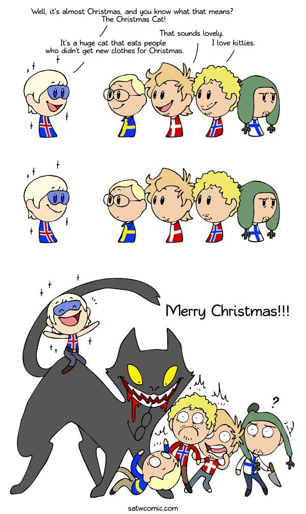christmas kitten - Merry Christmas In Icelandic