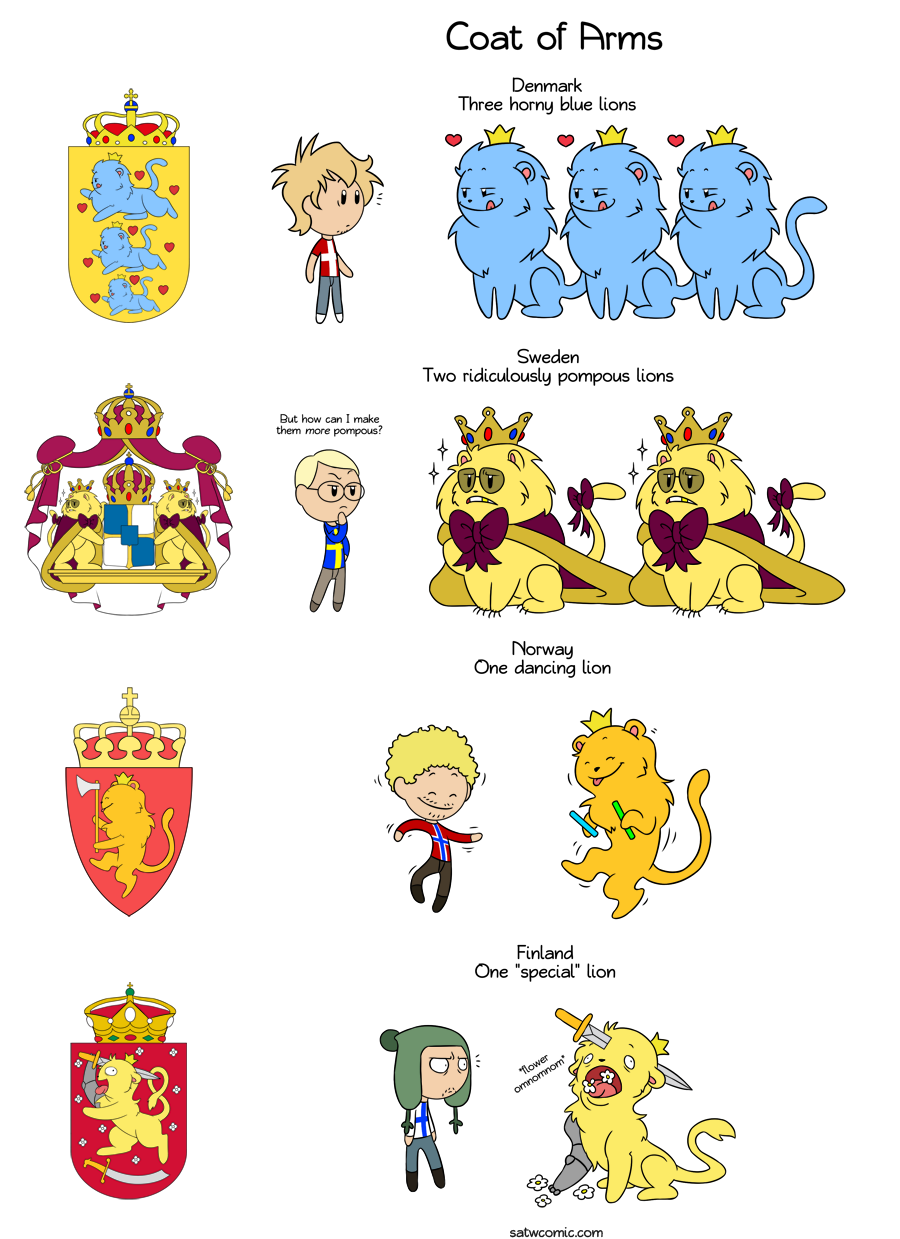 Coat of Arms HD satwcomic.com