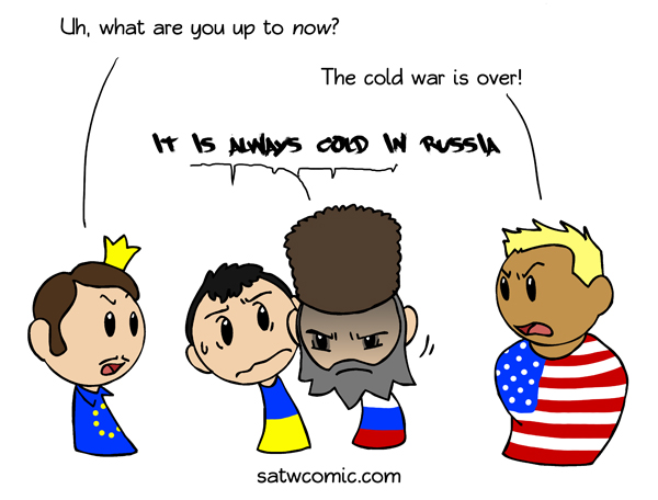 Cold but heating up satwcomic.com