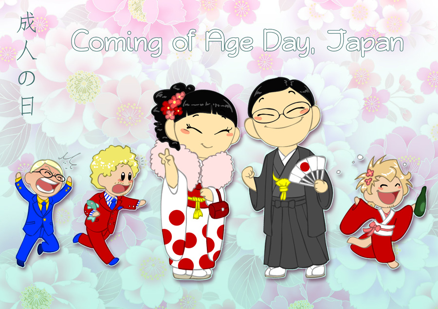 Coming of Age Day satwcomic.com