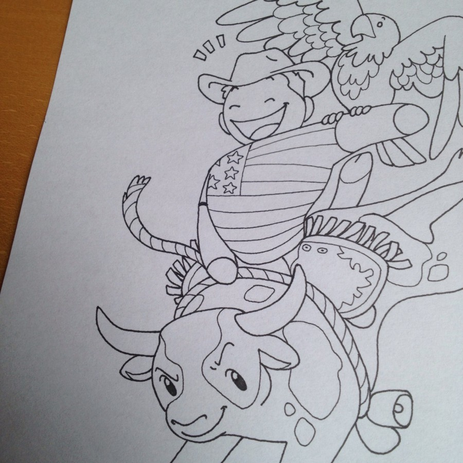 Colouring Book Preview 2 satwcomic.com