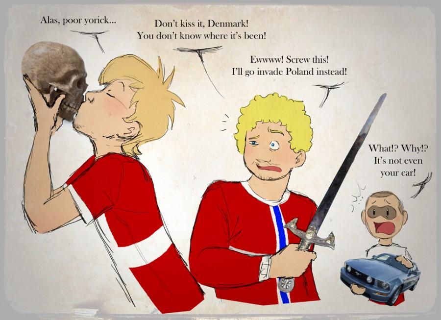 Hamlet satwcomic.com