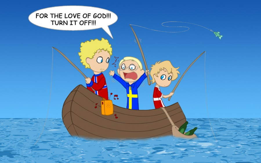 The Oresund Song satwcomic.com