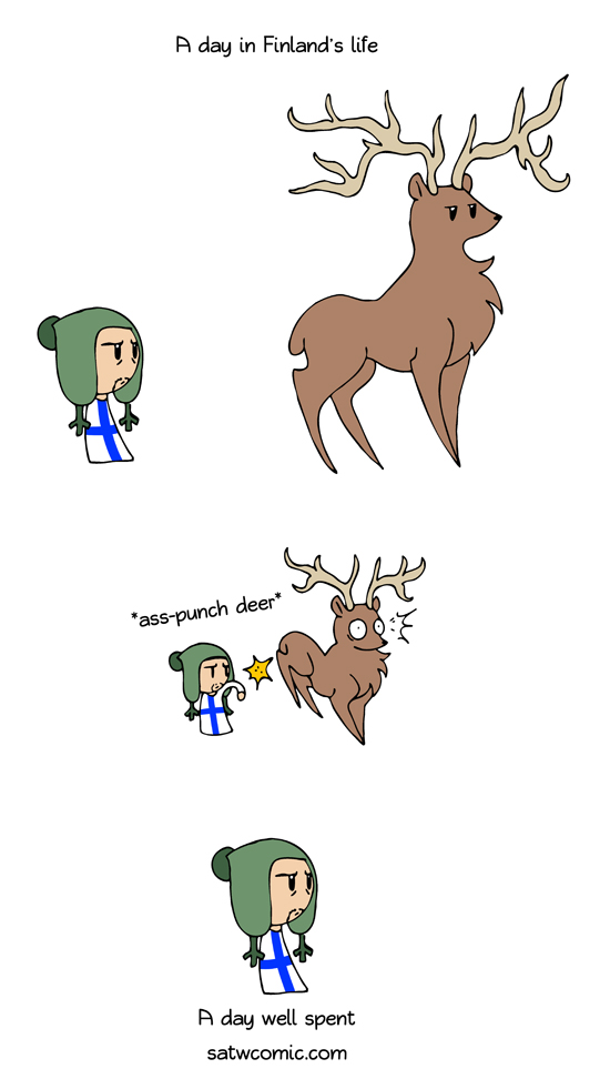 Deer Hunt satwcomic.com