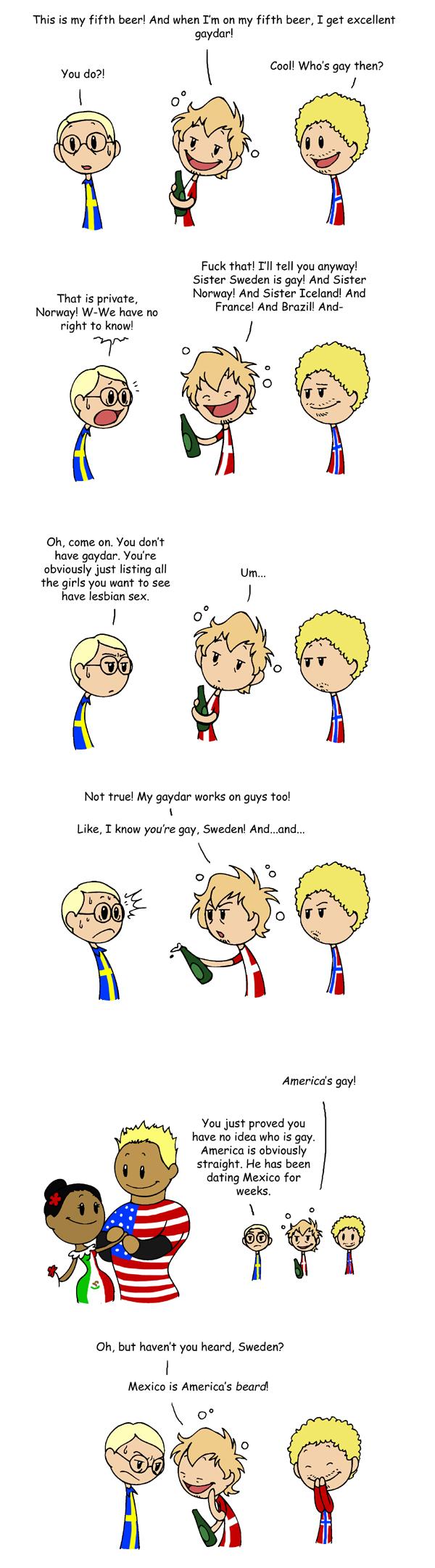 Denmark's Gaydar satwcomic.com