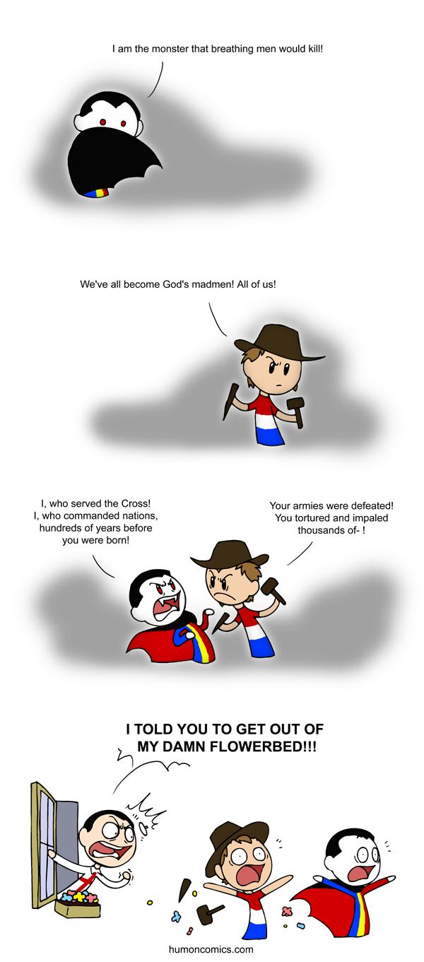 Dracula satwcomic.com