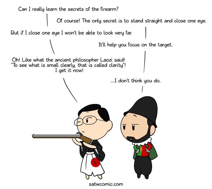 I know gun-fu satwcomic.com