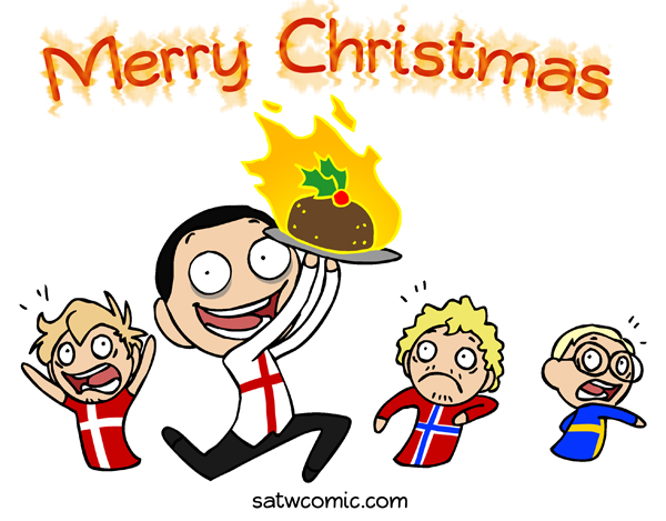 Merry Christmas 2013 satwcomic.com