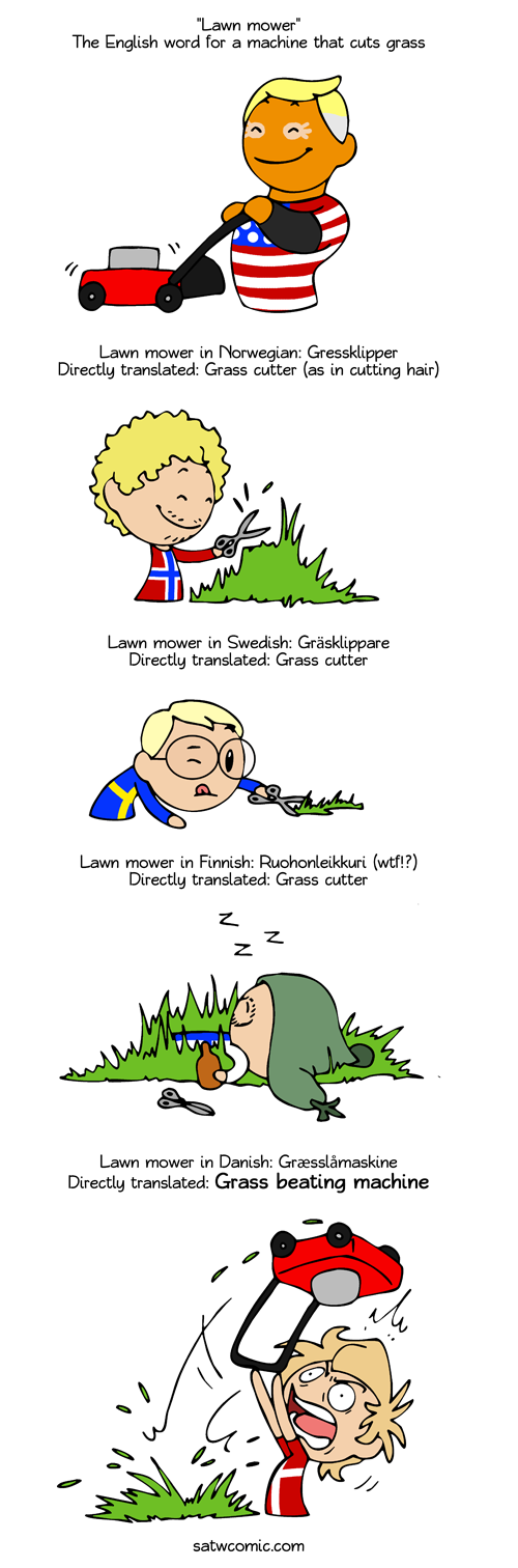 Mower of Grass satwcomic.com