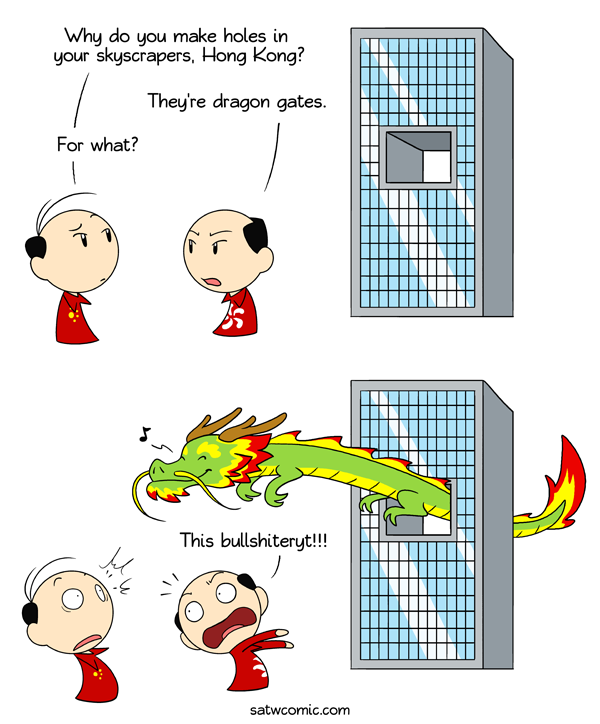 Needy Dragon satwcomic.com