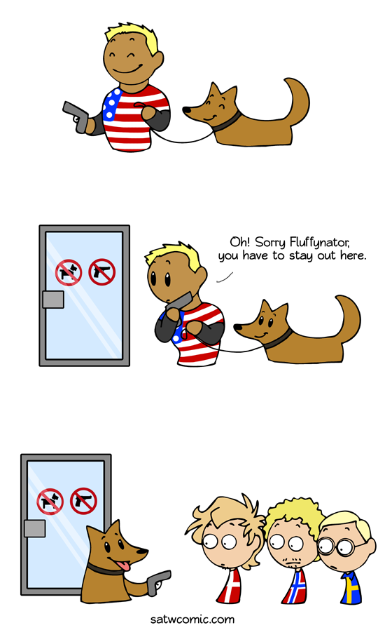 No pets allowed satwcomic.com