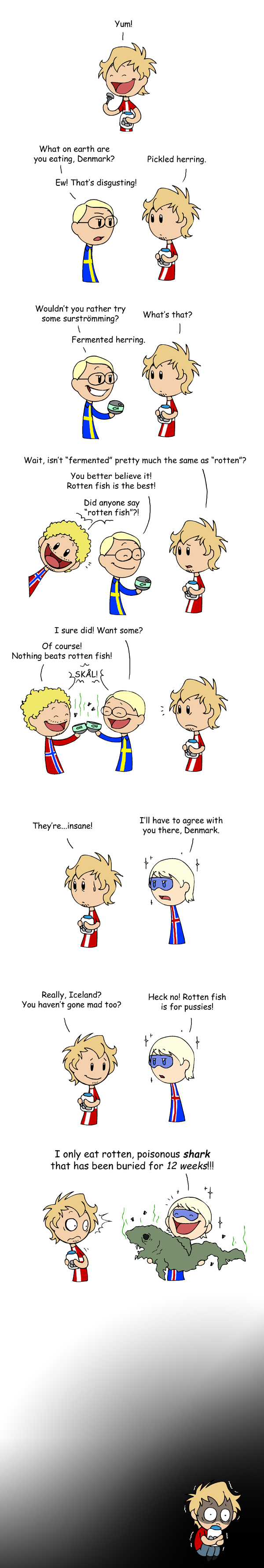 Nordics like Fish satwcomic.com