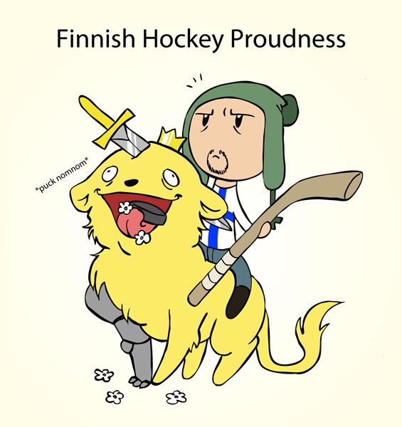 Proud Finland satwcomic.com