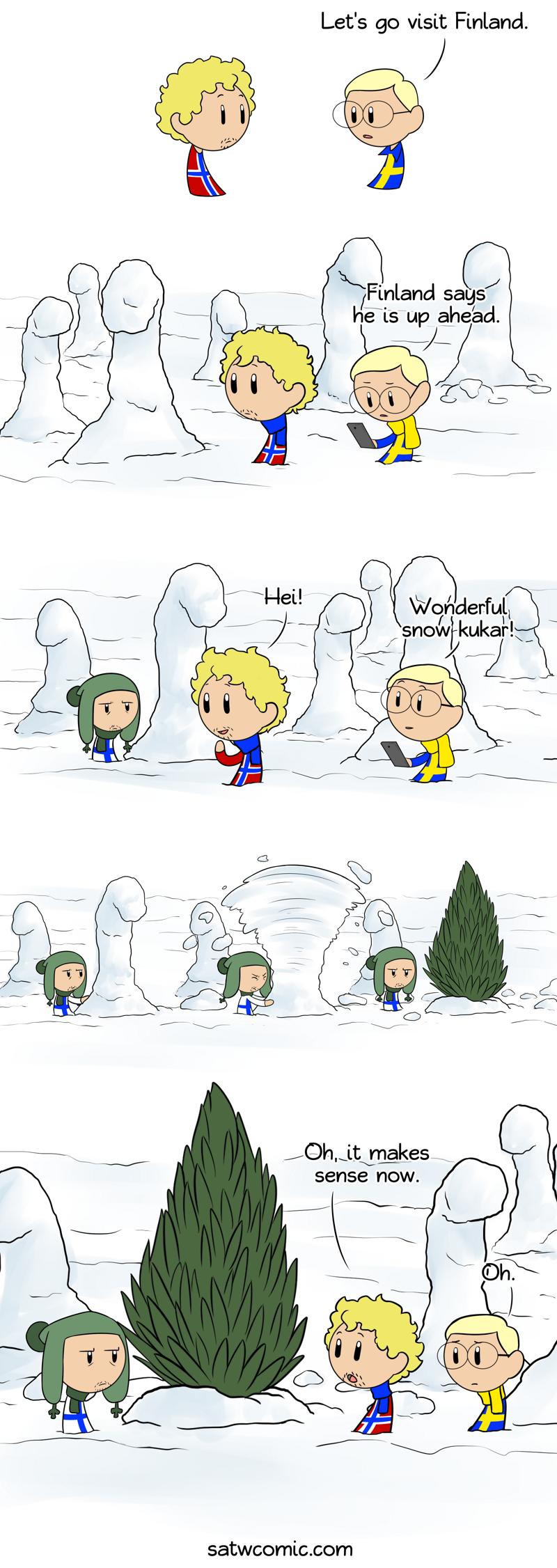 Snow Cocks satwcomic.com
