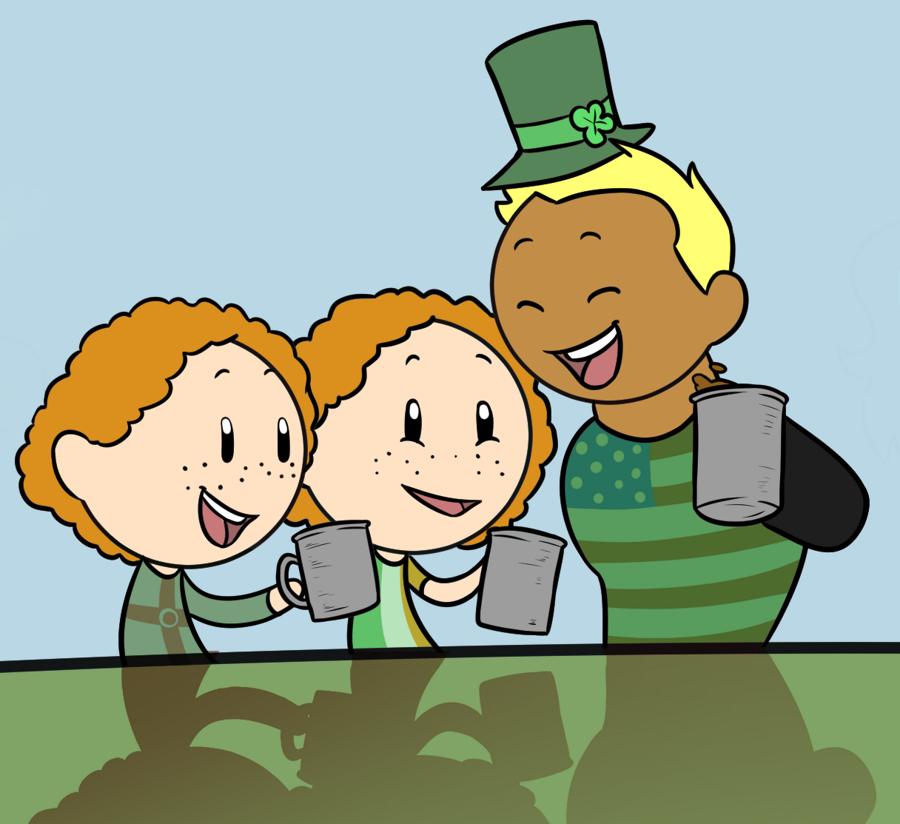St. Patrick's Day satwcomic.com