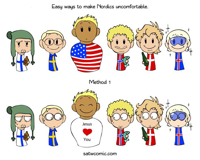 Image Result For Scandinavian Stereotypes