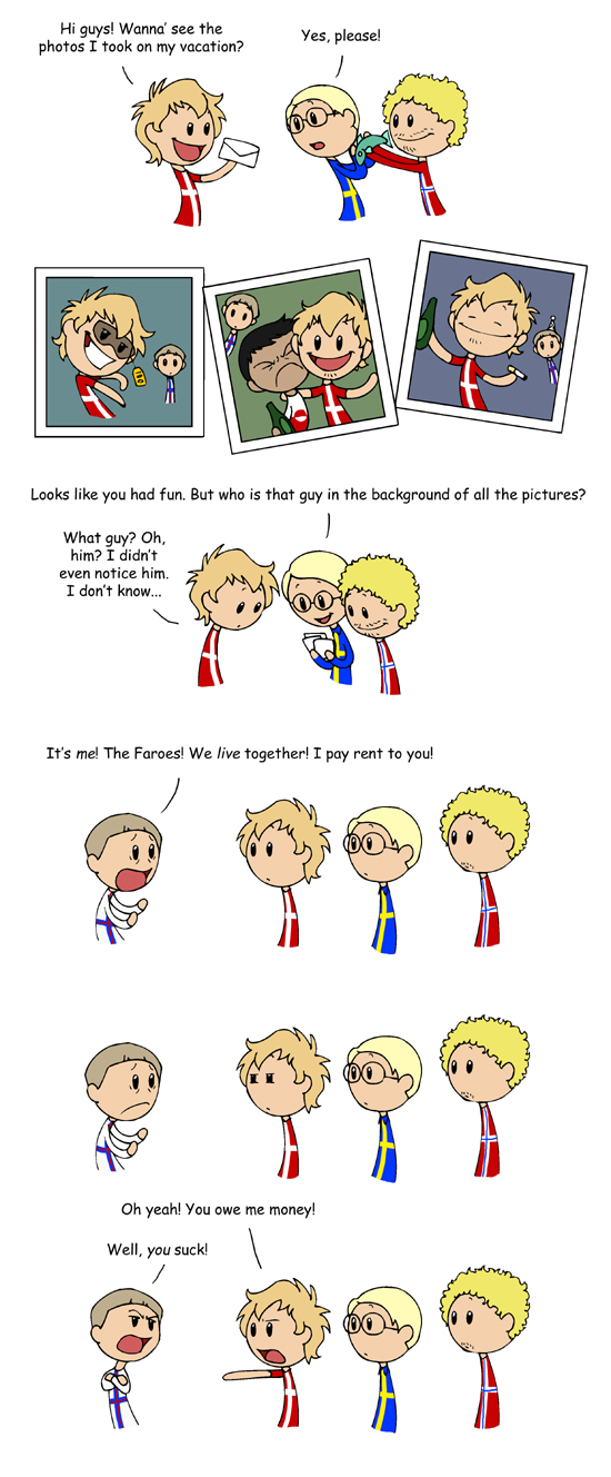 The Faroes satwcomic.com