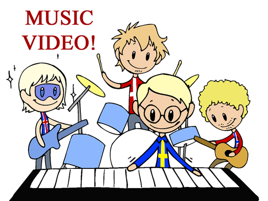 The Nordic Band satwcomic.com