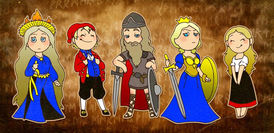 The Original Nordics satwcomic.com
