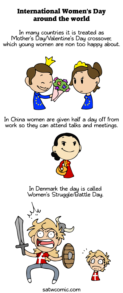 Women Around the World satwcomic.com