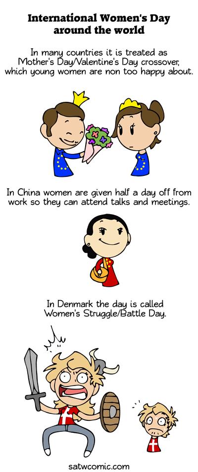 Women Around the World satwcomic.com